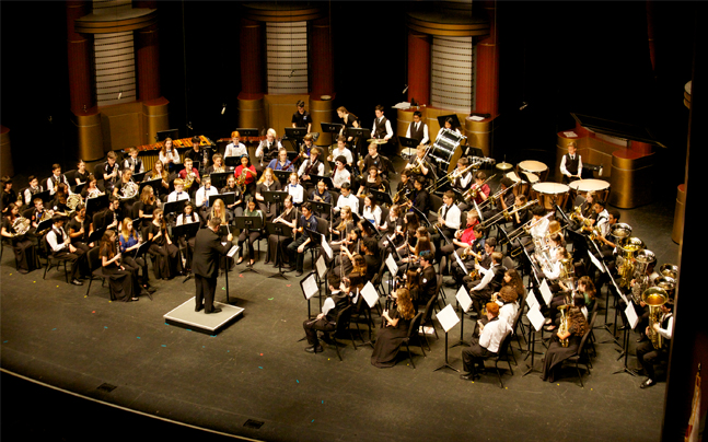Spotlight on Young Musicians orchestra
