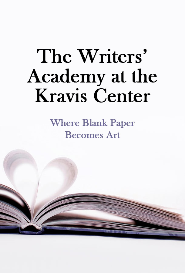The Writers' Academy at the Kravis Center: Where Blank Paper Becomes Art.Open book where pages are folded in the middle to look like a heart.