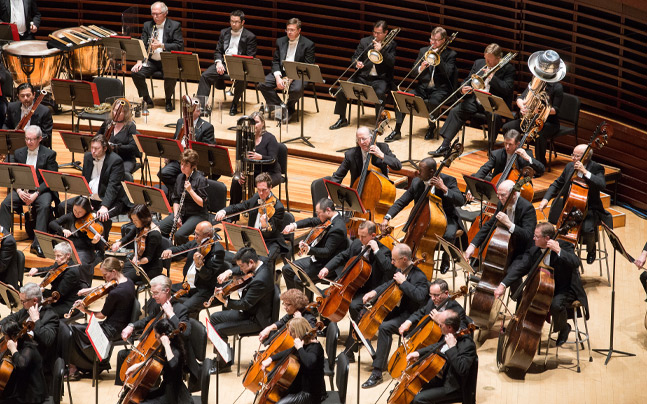 Philadelphia Orchestra performing