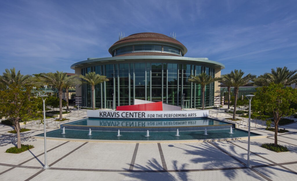 Raymond F Kravis Center for the Performing Arts Plaza