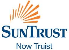 SunTrus Now Truist. Sun burst.