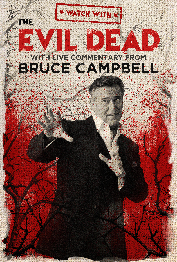 The Evil Dead Worldwide Virtual Watch Party With Live Commentary...