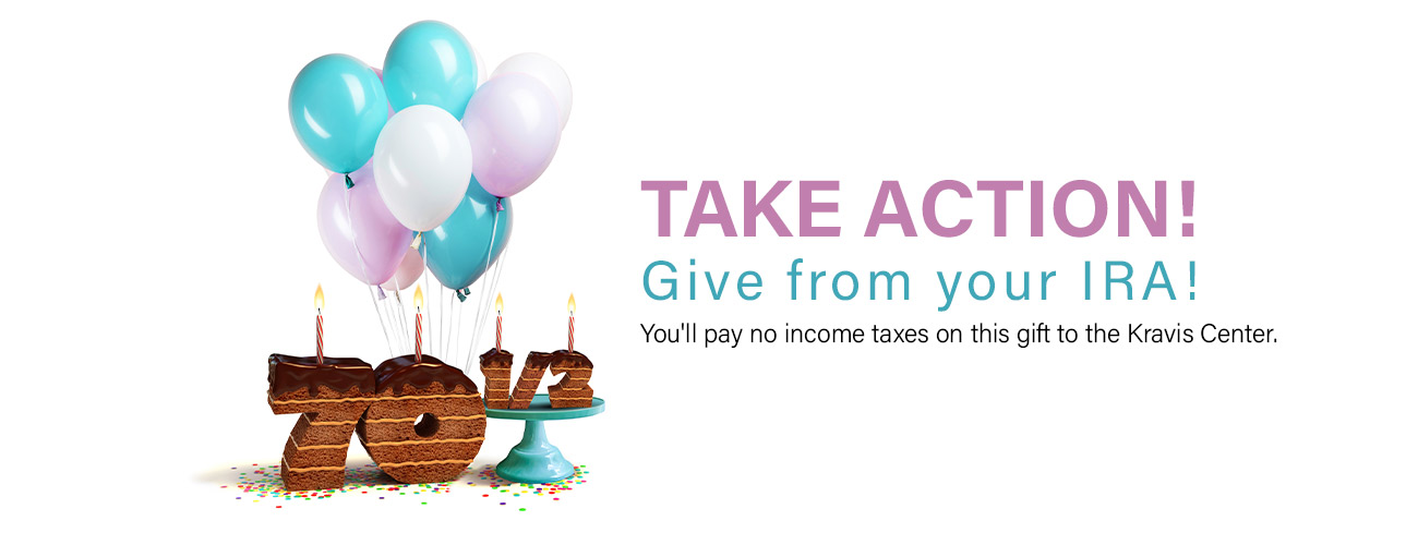 Avoid taxes and support the Kravis Center