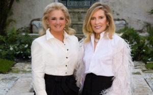 Kathryn Vecellio and Monika Preston