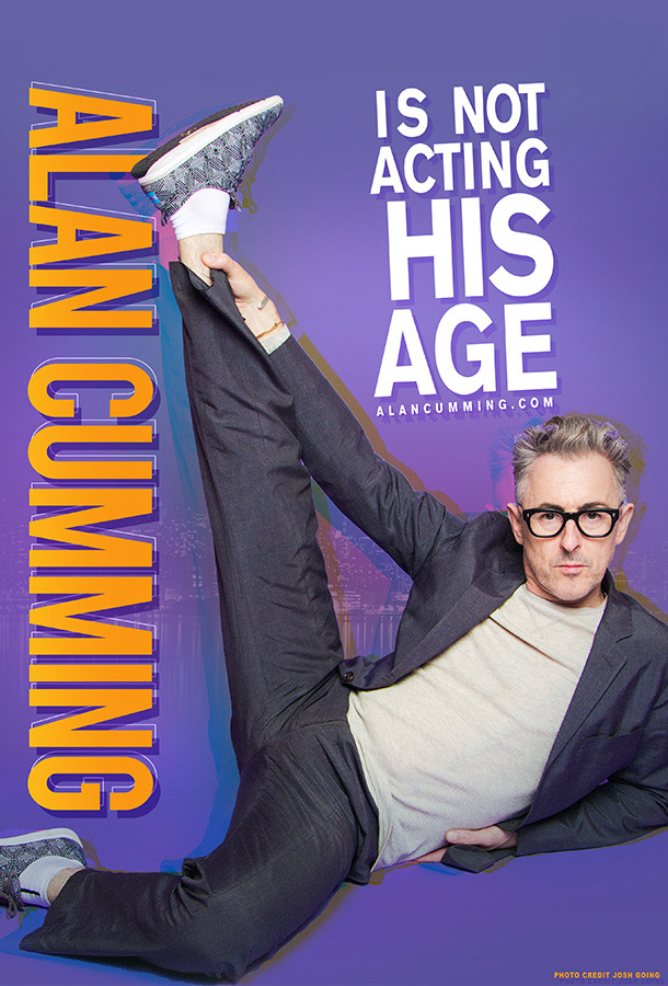 Alan Cumming Is Not Acting His Age